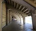 Firenze, stadio artemio franchi, sostegni delle tribune 09.jpg