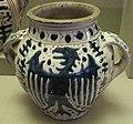 Firenze, vaso di zaffera, 1425-1450 circa 01.JPG