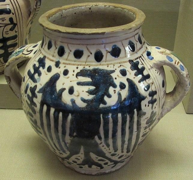 File:Firenze, vaso di zaffera, 1425-1450 circa 01.JPG