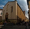Firenze - Florence - Piazza Sant'Ambrogio - ICE Photocompilation Viewing from NE to East on Chiesa di Sant'Ambrogio.jpg