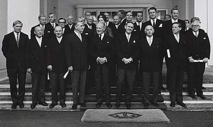 The First Gorton Ministry; the 44th Australian federal ministry, 1968.
