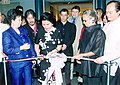 First Lady Loi Estrada at a ribbon cutting ceremony in New York (2000).jpg