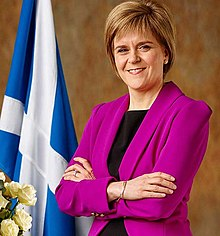 Portrait officiel de Nicola Sturgeon.