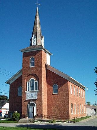 Avon, New York - Historic First Presbyterian Church of Avon