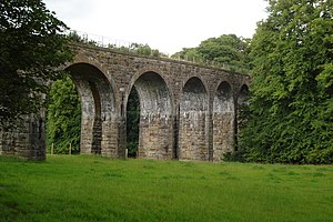 Penicuik Railway - The Firth Viaduct near Auchendinny
