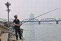 Fishing in Pyongyang on a nice September day (10058581064).jpg