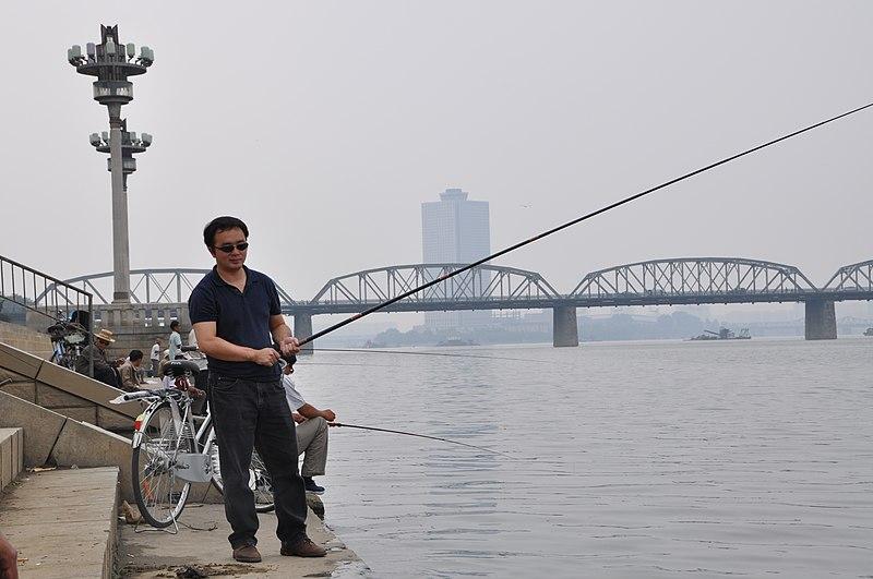 File:Fishing in Pyongyang on a nice September day (10058581064).jpg