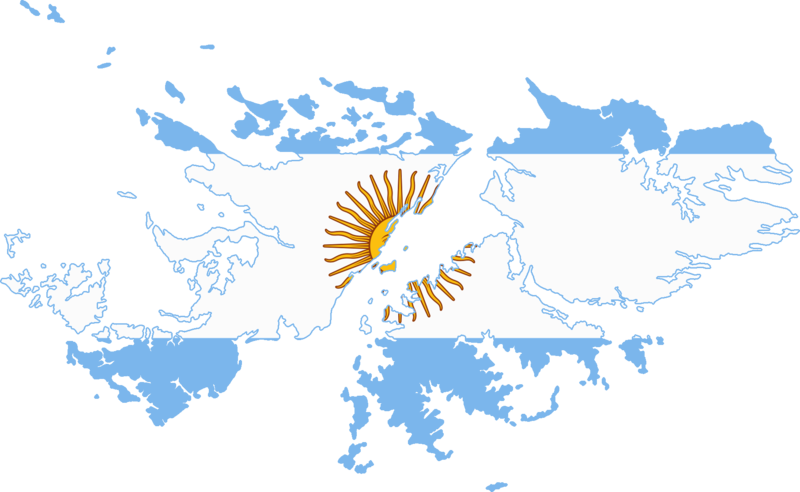 Resultado de imagen para falklands islands map png