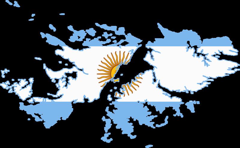 Argentina Flag Falklands