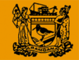 Save Aramoana Campaign - Image: Flag of Aramoana