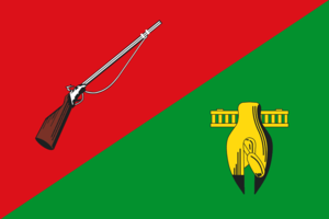 Stary Oskol - Image: Flag of Stary Oskol (Belgorod oblast)
