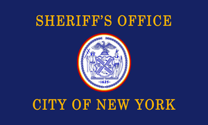 New York City Sheriff's Office - Flag of the City of New York City Sheriff's Office