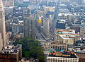 Flatiron building from empire state building september 2004.jpg