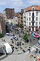 Flea market on Chaussée de Waterloo, Brussels.JPG