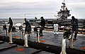 Flickr - Official U.S. Navy Imagery - Sailors dismantle a steam catapult..jpg