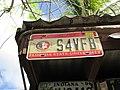 Florida license plate Florida State University — Foxy's Bar, Jost van Dyke, British Virgin Islands.jpg