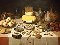Floris Van Dyck, Pièce de banquet.jpg