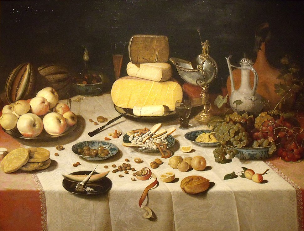 Floris Van Dyck, Pièce de banquet