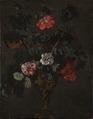 Flowers in a Sculptured Vase (Johann Daniel Preissler) - Nationalmuseum - 17746.tif