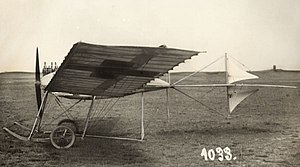 Fokker - Fokker's first airplane, the Spin (Spider) (1910)