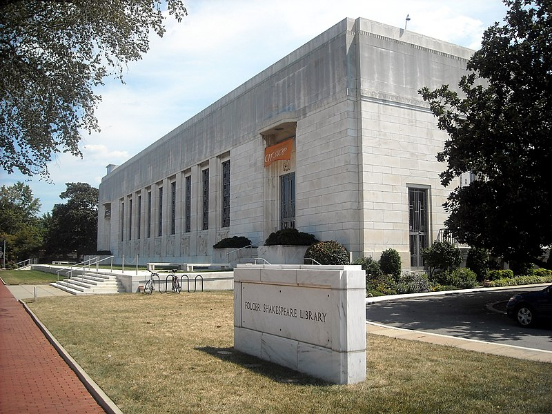 File:Folger Shakespeare Library DC.JPG