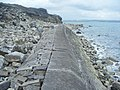 Folly Pier Waterworks Sea Wall, Portland, Dorset 4.jpg