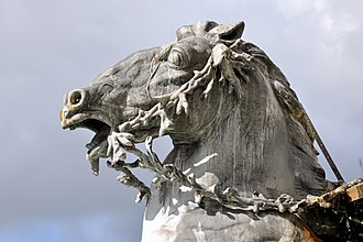 Fontaine Bartholdi - Image: Fontaine de Bartholdi Lyon 250709 08