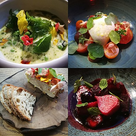 Food in Ireland today uses traditional ingredients cooked and presented in a modern way (pic Tartare, Galway) Food in Ireland today uses traditional ingredients cooked and presented in a modern way.jpg