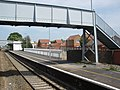 Footbridge, at Bridgwater railway station - geograph.org.uk - 1300511.jpg