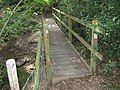 Footbridge (1 of 3) near Normans Cottages - geograph.org.uk - 1412133.jpg