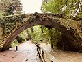 Footbridge North East Of Banqueting Hall, Jesmond Dene, Newcastle upon Tyne.jpg