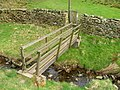 Footbridge over Wycoller Beck - geograph.org.uk - 1254261.jpg