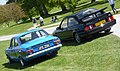 Ford Escort (1975) & Sierra Cosworth RS500 (1987) (34882341865).jpg