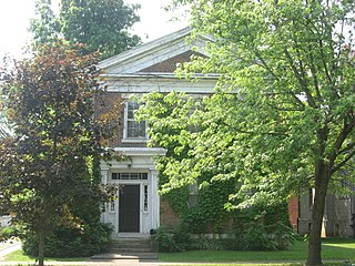 Foreman-Case House historic home located at Delphi, Carroll County, Indiana, United States