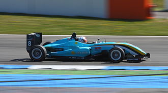 Daniel Juncadella - Juncadella competing at the second round of the 2010 Formula 3 Euro Series at Hockenheim.