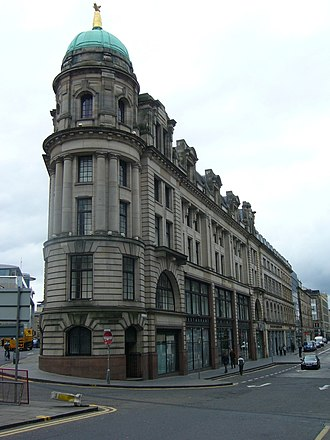St. Cuthbert's Co-operative Society - The former department store in Bread Street