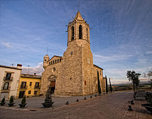 Fornells de la Selva - Church of St. Cugat