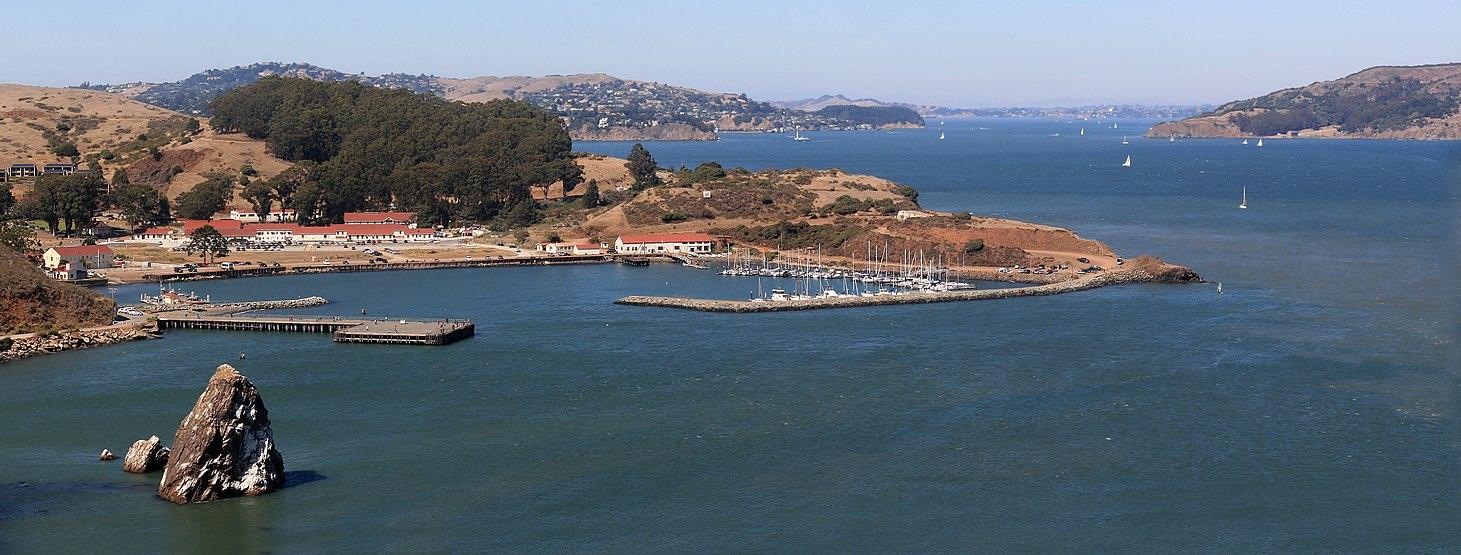 Fort Baker on San Francisco Bay just