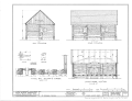 Fort Nisqually, Granary, Point Defiance Park, Tacoma, Pierce County, WA HABS WASH,27-TACO,1C- (sheet 2 of 2).png