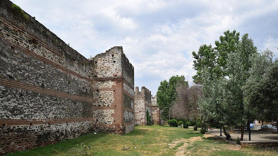 Fortification wall, Thessaloniki 18919670075