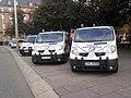 Fourgons de la Police nationale strasbourg manifestation austérité.jpg