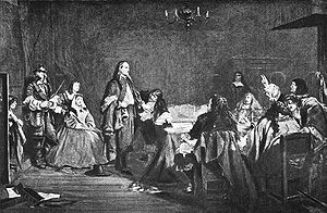Testimony of integrity - George Fox refusing to take oath, 1663