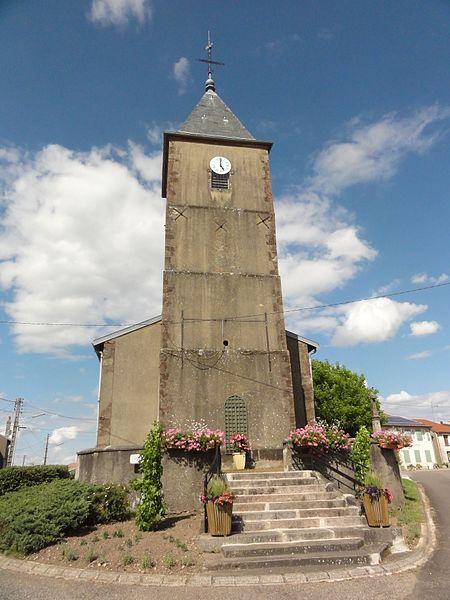 Fréménil (M-et-M) église