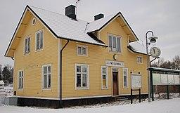 Frösunda station i januari 2014
