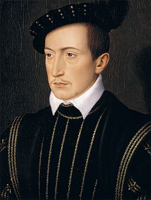 House of Laval - Guy XVII, count of Laval between 1531 and 1547. Portrait by François Clouet.