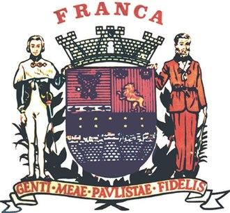 Franca - Image: Franca brasao