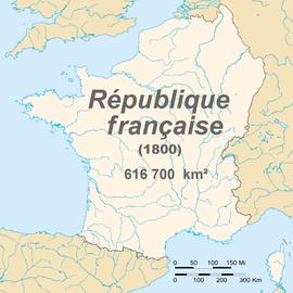 Французская республика в 1800 г