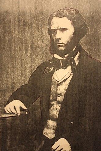 Francis Brodie Imlach - Francis Brodie Imlach c.1860 (ink sketch)