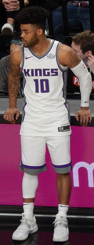 Frank Mason III - Mason with the Sacramento Kings in February 2018