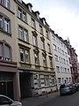 """Frankfurt-Bockenheim, Juliusstraße 12, ehemaliger Geschäftssitz der """"F. & C. Achenbach, Erste Frankfurter Verbandstoff-Fabrik, gegründet 1882.JPG"""